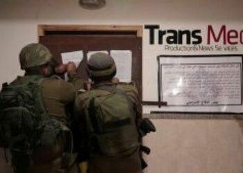 El gobierno israelí ataca a periodistas en Cisjordania