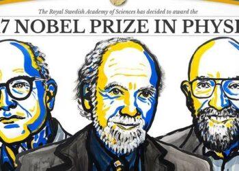 La detección de ondas gravitacionales es galardonada con el Premio Nobel de Física
