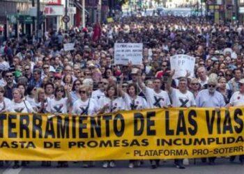 Cambiemos Murcia pide a ADIF que renuncie a traer el AVE en superficie