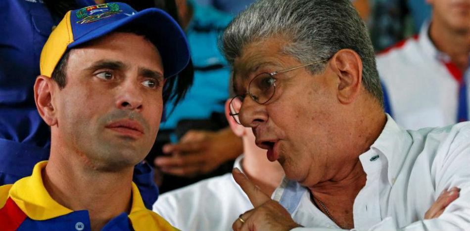 La oposición venezolana a un paso de la descomposición