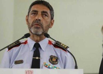 Jefe de policía catalana declara por sedición ante justicia española
