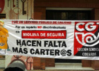 Los eventuales de Correos se concentrarán en protesta por las condiciones de la bolsa de empleo pactadas entre empresa, CCOO, UGT, SL y CSIF