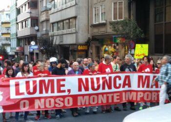 CNT denuncia la irresponsable política forestal y de extinción de incendios de la Xunta