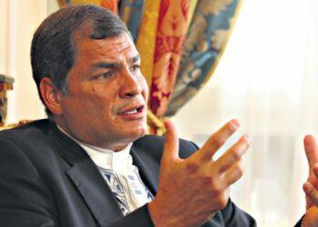 """Declaraciones del ex presidente ecuatoriano Rafael Correa: """"la derecha en América Latina perdió los límites"""""""
