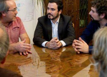 """Garzón insta a """"abrir la elaboración de una Constitución Federal"""" para responder al problema territorial y social"""