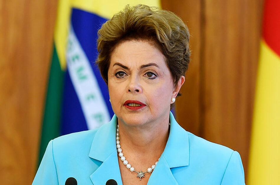 """Rousseff: """"Brasil rechaza enfoque de Temer sobre Venezuela"""""""