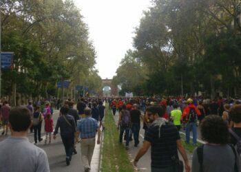 Barcelona En Comú se suma a l'aturada del 3 d'octubre contra la repressió policial i l'autoritarisme