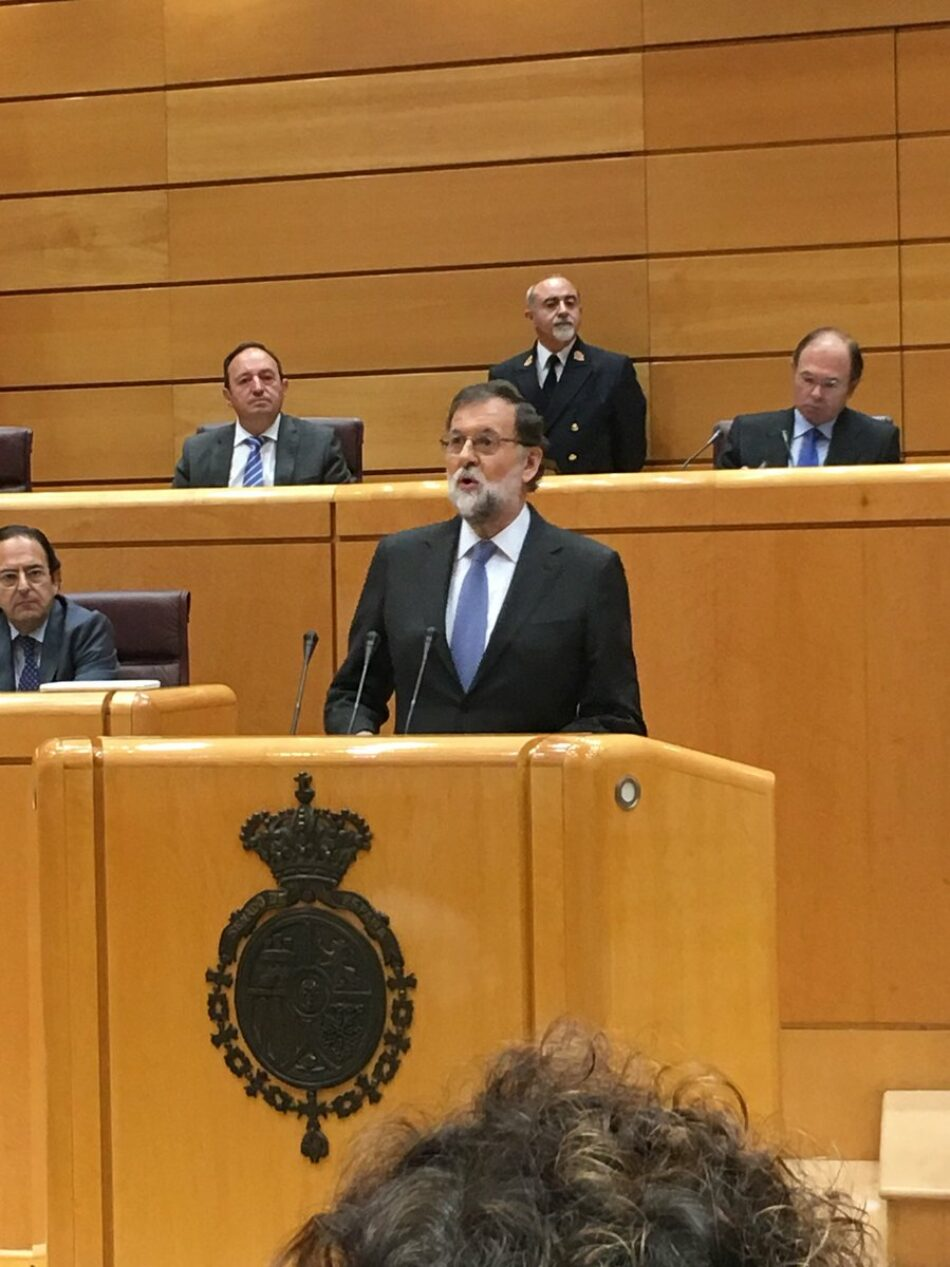 """Garzón alerta de que Rajoy y Puigdemont """"nos han llevado a una situación incierta en la que nadie sabe cómo se desarrollarán los acontecimientos, ni siquiera ellos mismos"""""""
