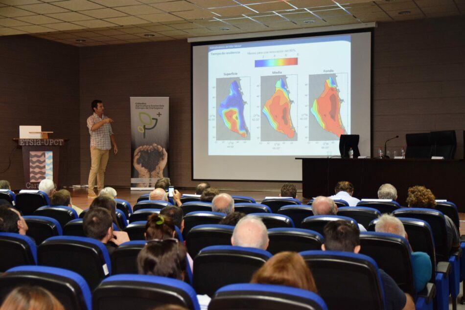 Investigadores de la UPCT advierten del peligro para el Mar Menor de un invierno atmosféricamente estable