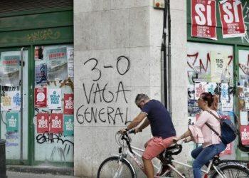 Cataluña: Vive minuto a minuto la huelga general
