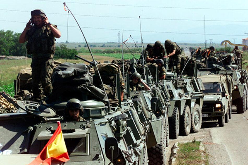 El Ministerio de Defensa español envía al Ejército a Barcelona