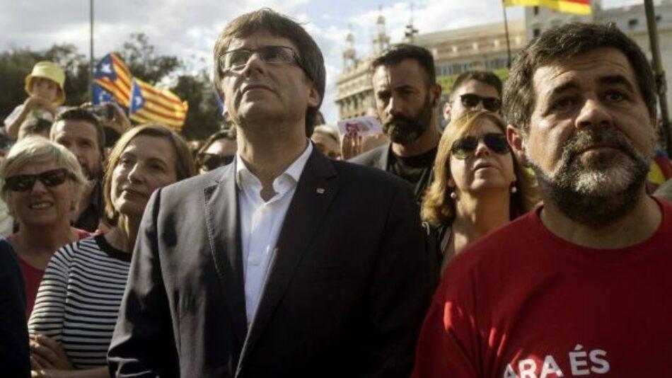 La ANC y la CUP piden a Puigdemont declarar la independencia ante la falta de diálogo