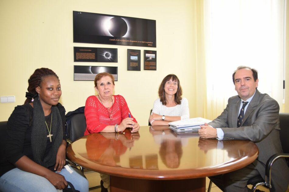 Una joven de Costa de Marfil cursa un MBA en la UPCT gracias al convenio con la Fundación Mujeres por África