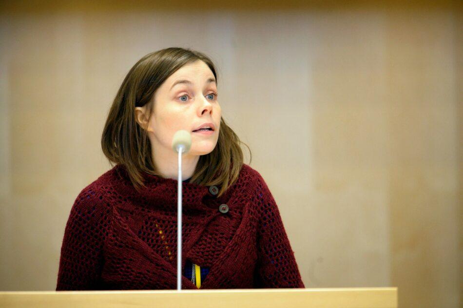 Conoce el perfil político de Katrin Jakobsdóttir, la probable nueva primera ministra de Islandia