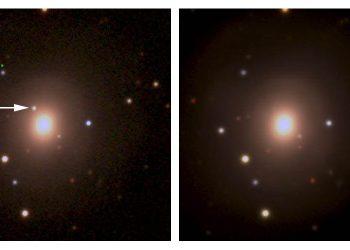 Científicos detectan la contrapartida óptica  de las últimas ondas gravitacionales  de LIGO/Virgo