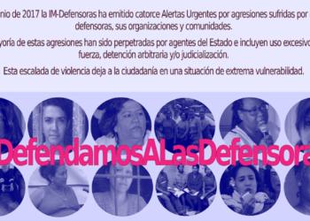 Un llamado a la acción para las defensoras hondureñas