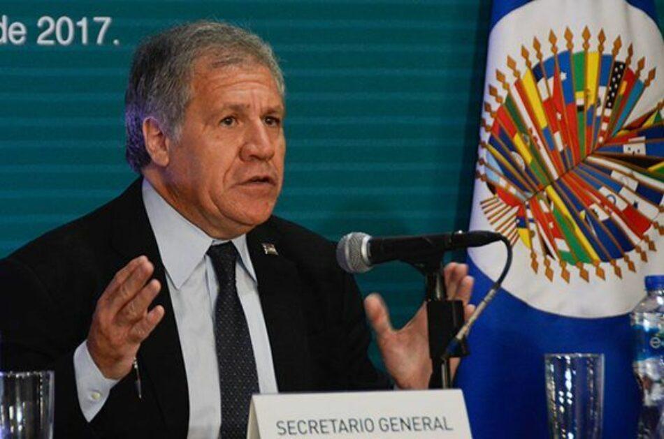 "Almagro, ¿el ""Aladino"" de la OEA?"