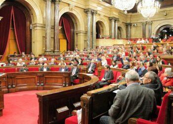 El Tribunal Constitucional prohíbe el pleno del Parlament de Catalunya del lunes próximo