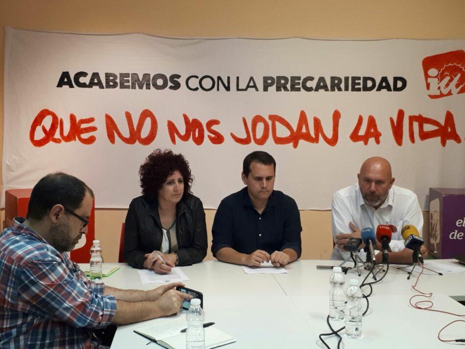 Unidos Podemos presentará una PNL para exigir el soterramiento del AVE en Murcia y reprobar al ministro de la Serna por la represión policial en las vías