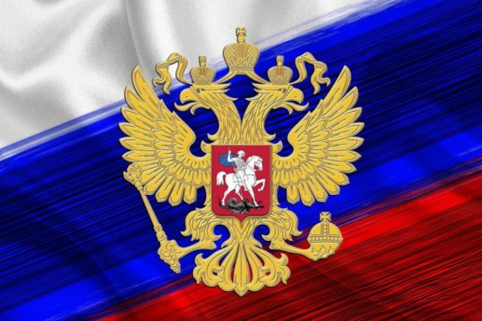 Rusia felicita al pueblo y Gobierno venezolano por las elecciones regionales