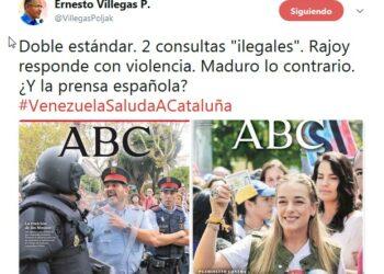 Ministro venezolano de comunicación: Venezuela mostró altura y madurez el 16-J mientras España reprimió una consulta interna