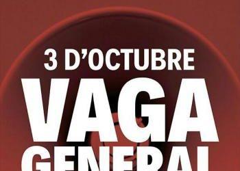 CNT ante la convocatoria de huelga general en Catalunya
