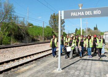 EQUO propone a los partidos cordobeses un frente común por el Cercanías entre Palma del Río y Villa del Río