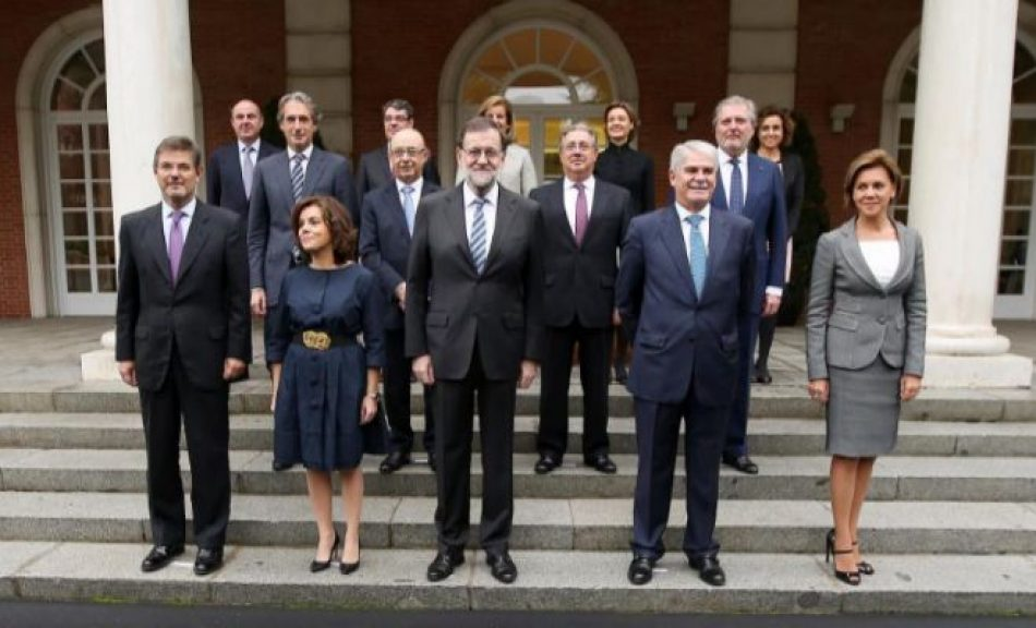 Radiografía política de los ministros de Mariano Rajoy