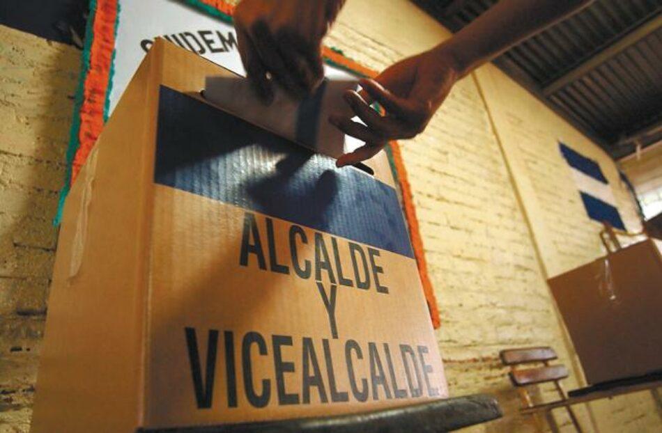 El sandinismo arrasa en las elecciones municipales de Nicaragua