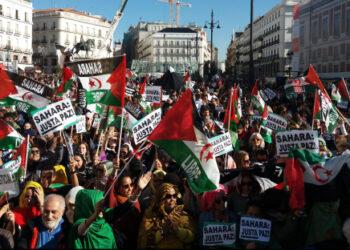 La responsabilidad de España presente en la manifestación saharaui de Madrid