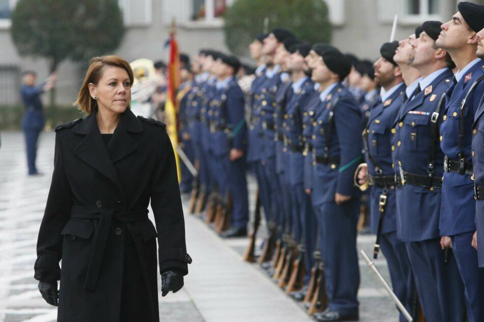 Defensa ahora sí reconoce que la Asociación de Militares Española disfruta de dependencias gratis en un cuartel