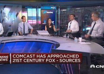 Comcast, el gigante de los medios por cable, quiere hacerse con parte de la 21st Century Fox y la AT&T está negociando la adquisición de Time Warner