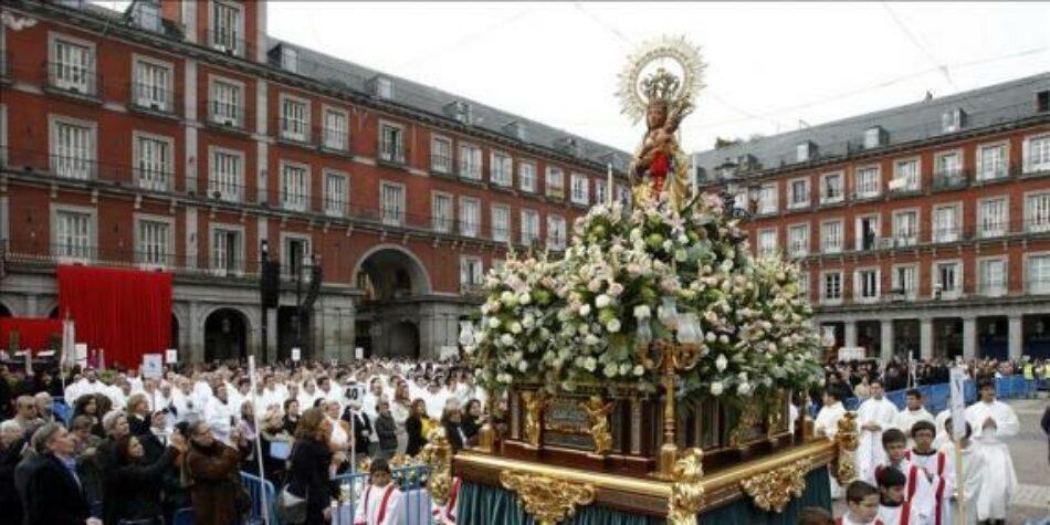 Madrid Laica denuncia una vez más la participación de cargos públicos en actos religiosos