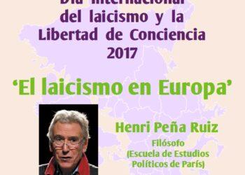 Conferencia en la UGR: 'El laicismo en Europa'