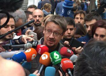 Xavier Domènech encapçalarà la candidatura de Catalunya en Comú el 21-D