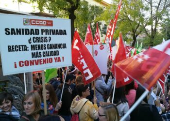 A partir del 27N, huelga indefinida en la Sanidad Privada madrileña