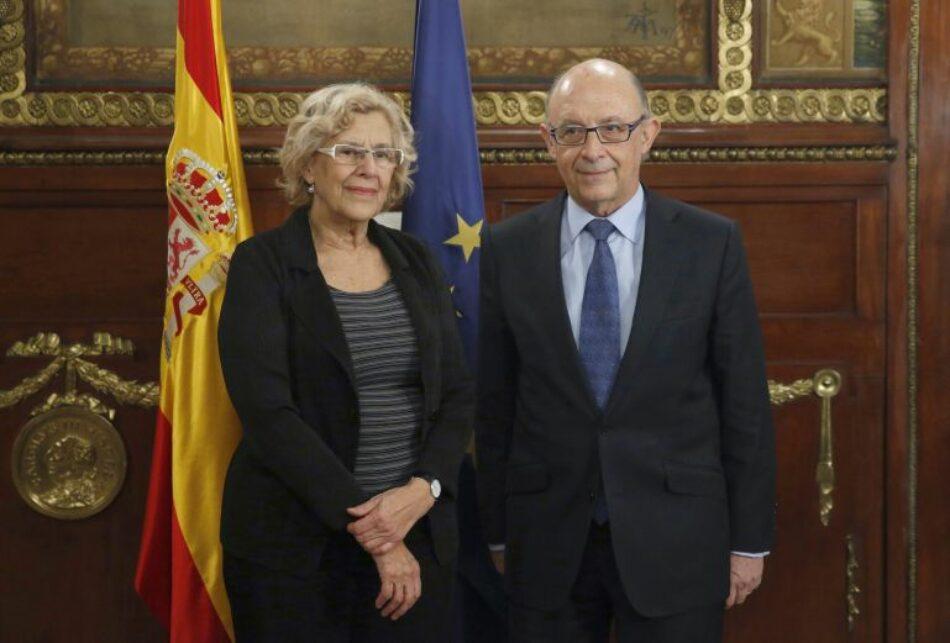 Comunicado de apoyo a Ahora Madrid frente a Montoro