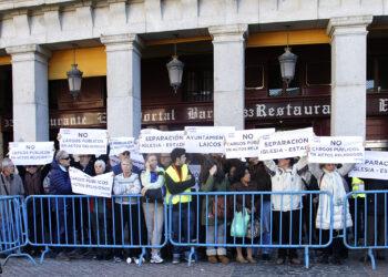Madrid Laica/Europa Laica denuncia la participación de cargos públicos en la celebración litúrgica del Voto de la Villa