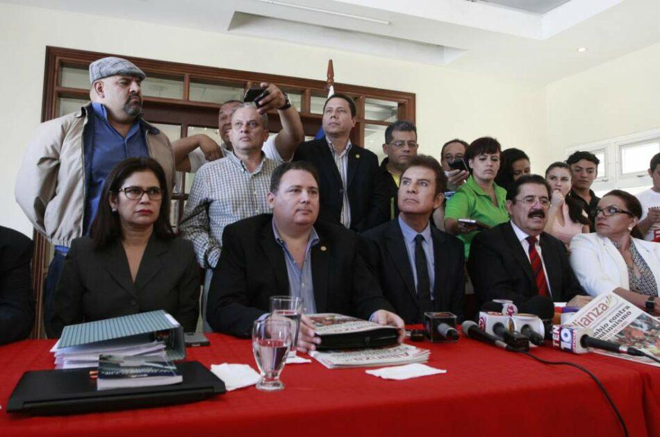[Elecciones Honduras] La izquierda hondureña acude unida a las elecciones generales del domingo