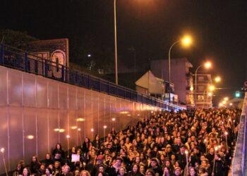 El pasado viernes tuvo lugar la primera marcha nocturna contra el acoso callejero en Fuenlabrada