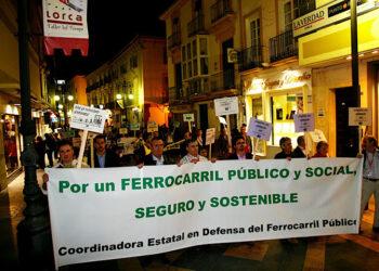 Presentación de la Coordinadora Estatal en Defensa del Ferrocarril Público, Social y Sostenible