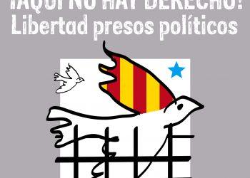 «¡Aquí no hay derecho! Libertad presos políticos»: movilización domingo 5 de noviembre