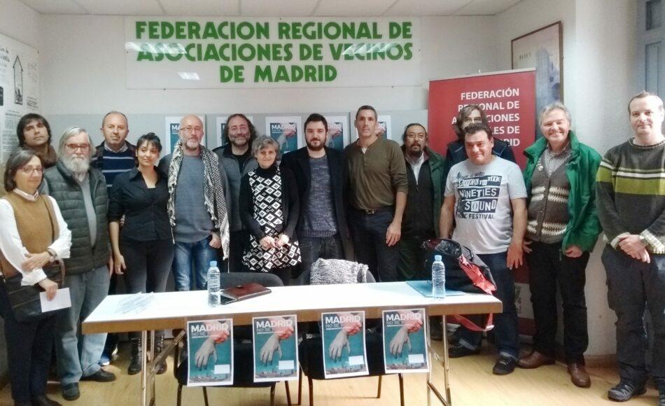 La Plataforma Madrid No Se Toca nace para frenar los recortes de Montoro en la capital