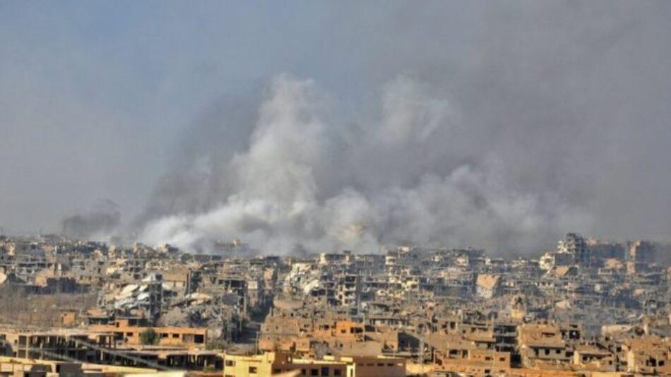 El Ejército sirio expulsa al Daesh de más territorio en la provincia de Deir Ezzor