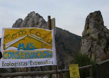 Piden que no se celebre una montería dentro del Parque Nacional de Monfragüe el Sábado 4 de Noviembre
