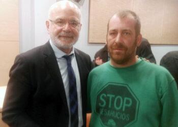 El relator de Naciones Unidas sobre derechos humanos apoya a Stop-Desahucios