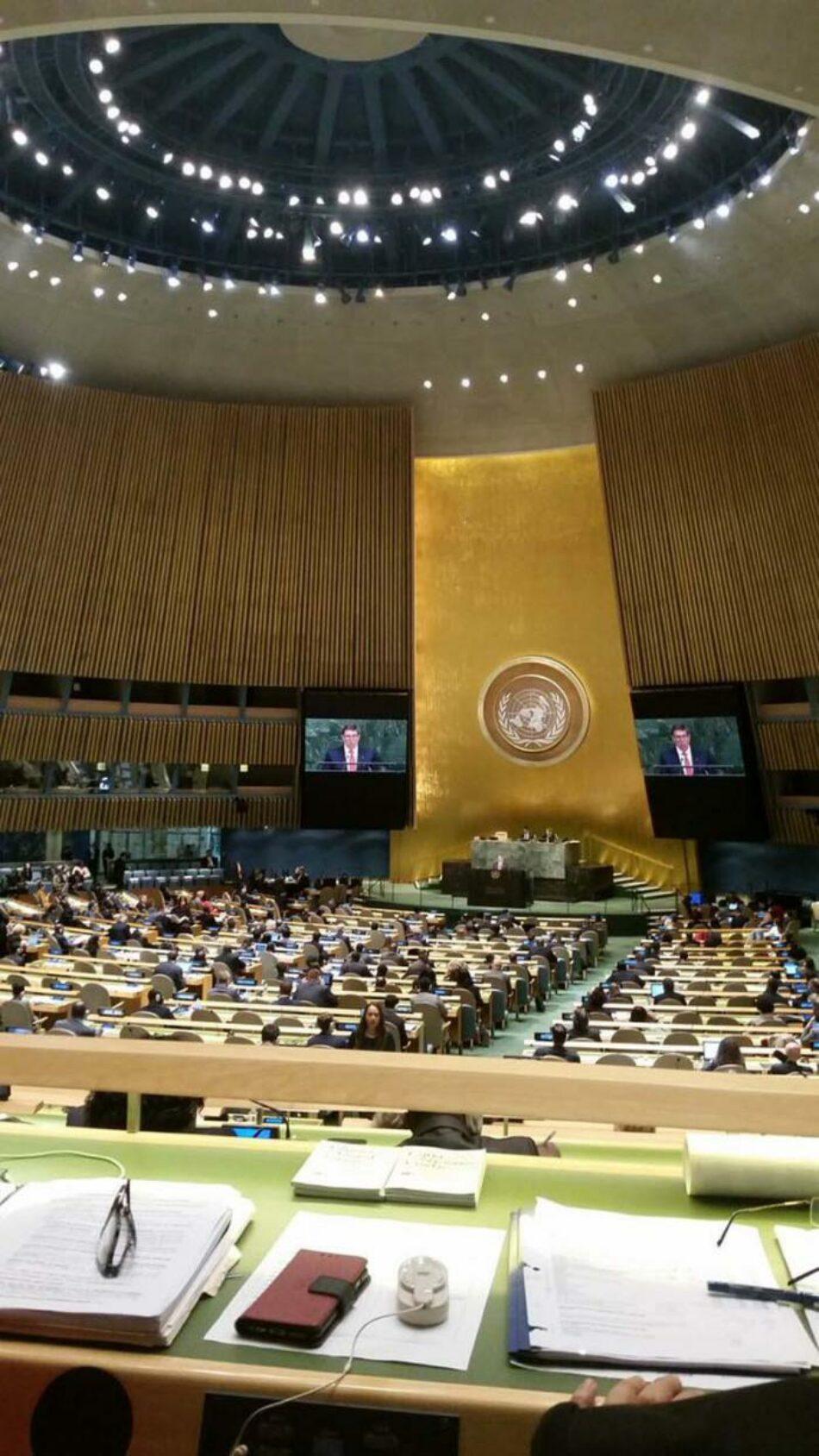 Contundente respaldo de la ONU a Cuba