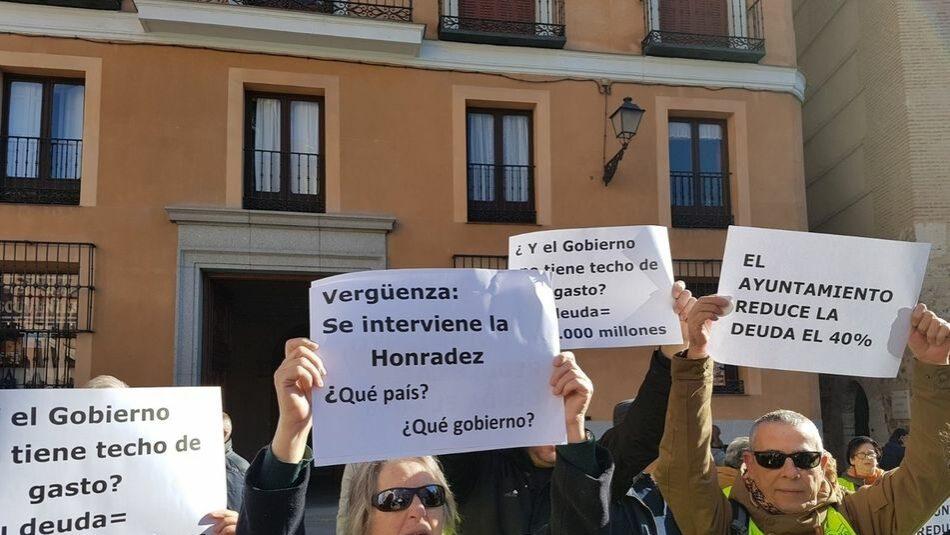 La FRAVM rechaza de manera rotunda la intervención de Montoro en las cuentas del Ayuntamiento de Madrid