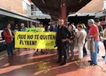 Semana de lucha en defensa del ferrocarril público, social y sostenible