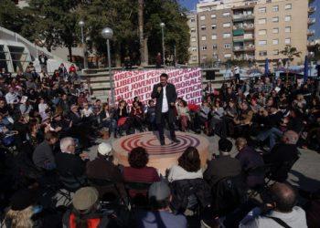 """Xavier Domènech: """"Som l'única candidatura que garanteix que les polítiques socials estaran al centre de l'acció de govern"""""""